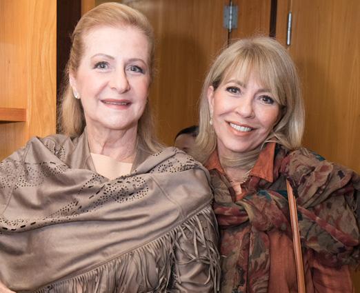 Angela Alhante e Gabriela Trybom