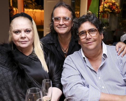 Beth Winston, Zé Ronaldo Muller e Antonio Neves da Rocha