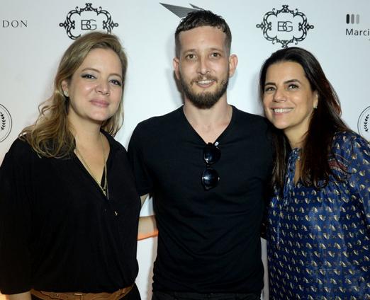 Bianca Gibbon, Felipe Dorneles e Ana Tereza Gibbon