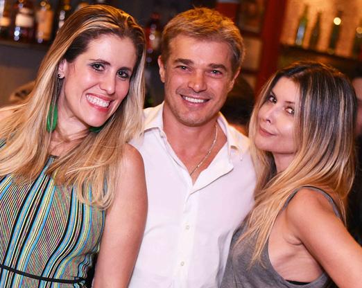 Bruna Barros, Sergio Correa e Ellyn de Paula