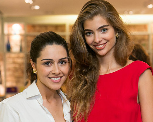Camila Cunha e Maria Frering