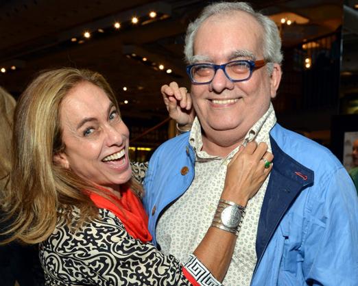 Cissa Guimarães e Artur Xexéo