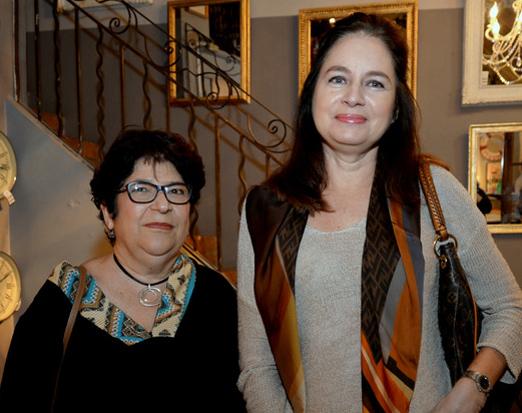 Claudia Cunha e Maria Celia Sá