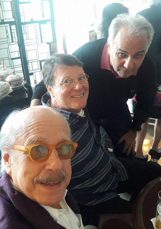 Claudio Aboim, Marcio Roiter e Franklin Toscano