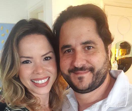 Daniela D'Antonio e Horácio Ernani