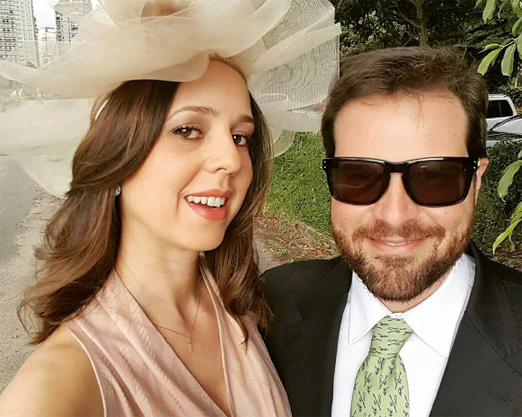 Danielle e Gabriel Giusti