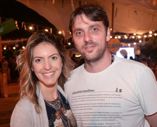 Daphne Gargitter e André Clemente
