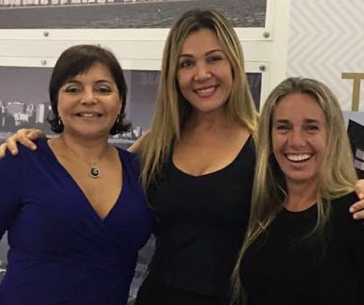 Denise Simões, Renata Fuster e Susana Madruga
