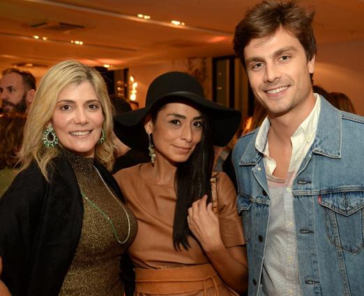 Elana Viana, Karla Ortiz e Paulo Dalagnoli