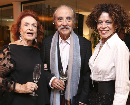 Eliana Moura, José Hugo Celidônio e Maria Alice