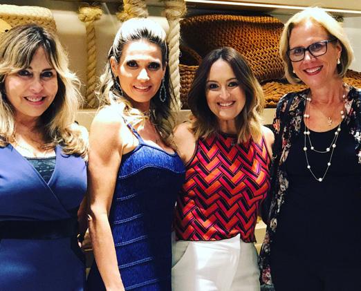 Eliana Ovalle, Adriana Alves, Gabriela Catão e Sylvia Crivella