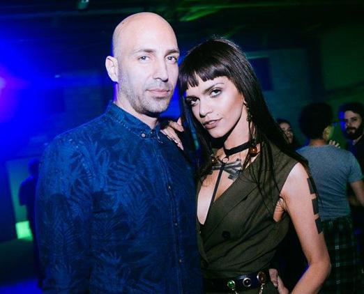 Emiliano Chinchelli e Angelica Moller
