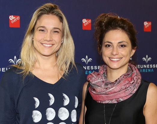 Fernanda Gentil e Priscila Montandon