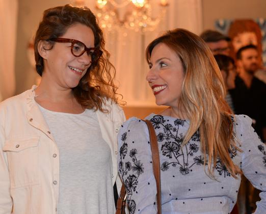 Fernanda Pereira e Fabiana Pomposelli