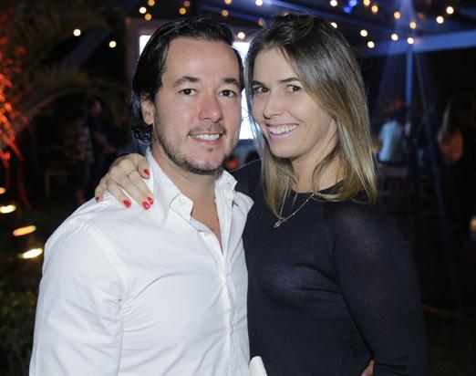 Gabriel Nehemy e Marina Foz