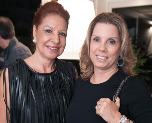 Glaucia Zacharias e Tania Pereira