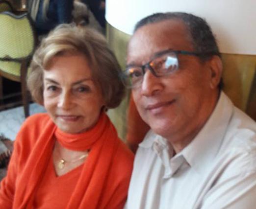 Helenita Araújo e Amaro Leandro Barbosa