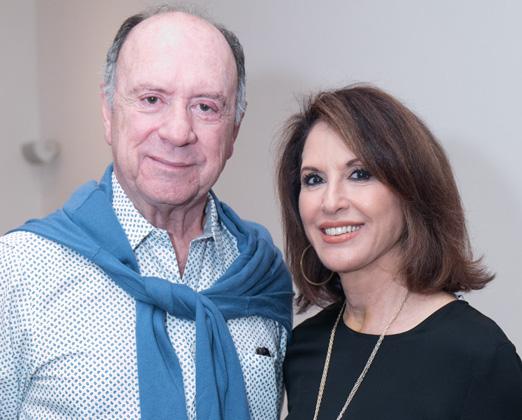João Elisio Ferraz e Regina Martelli