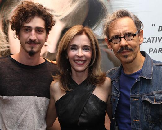 Johnny Massaro, Deborah Evelyn e Emilio de Mello