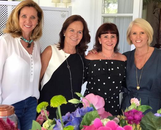 Kátia Spolavori, Xenia Góes, Nathalie Guerra e Anna Christina Willemsens