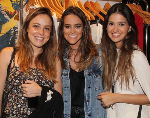 Kaká Dias, Sabine Arias e Ana Gabriela Velloso Lage