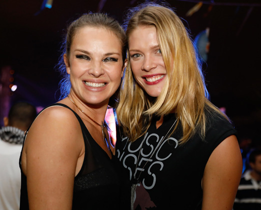 Leticia Birkheuer e Betina Schmidt