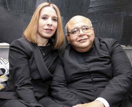 Liège Monteiro de Carvalho e Padre Jorjao