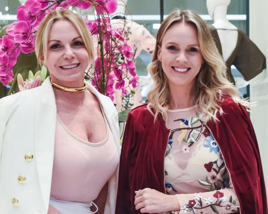 Lorena Campello e Nina Kauffmann