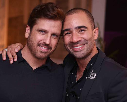 Marcelo Riess e Vitor Brasil