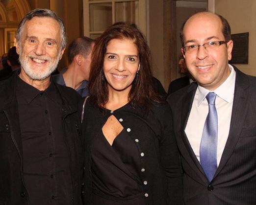 Marcio Ehrlich, Renata Suter e Rafael Alves