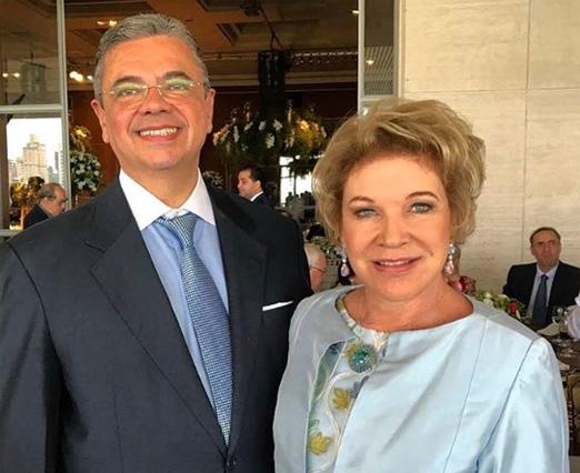 Marcio Toledo e Marta Suplicy