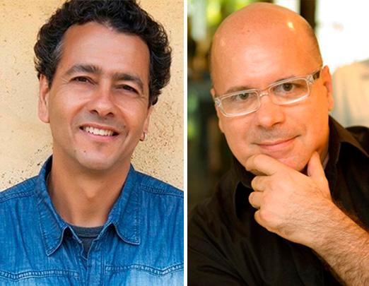 Marcos Palmeira e Eder Meneghine