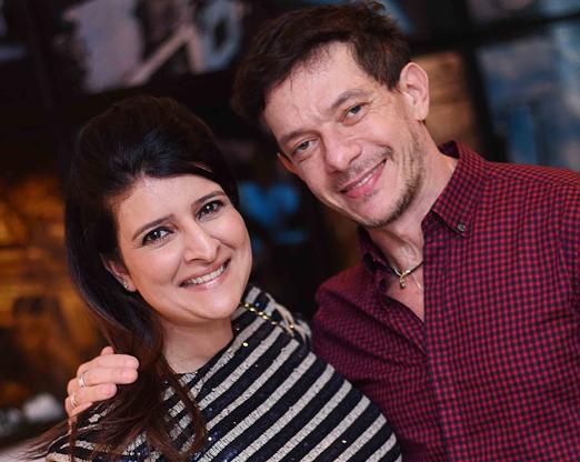 Mariana Fonseca e André Piva