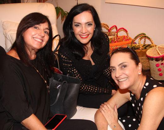 Marjorie Arias, Liliana Rodriguez e Ana Elisa Ferraiolo