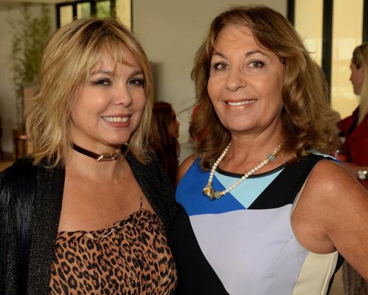 Mercedes Herrera e Gladys Calad