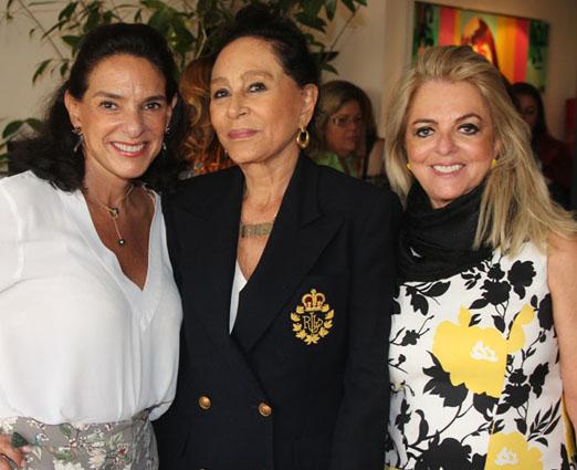 Milu Camarão, Miriam Gagliardi e Gloria Tavora