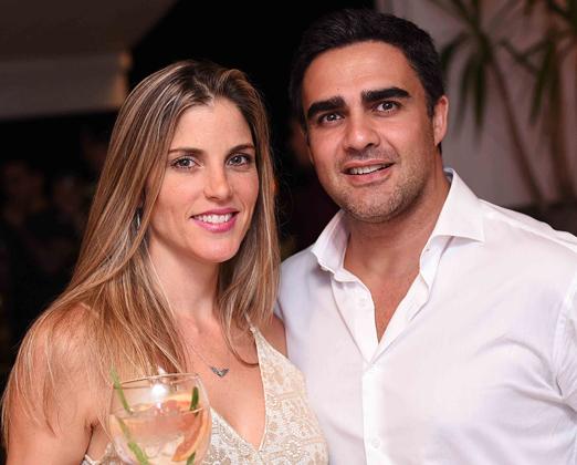 Monika Saviano e Cosimo Valerio