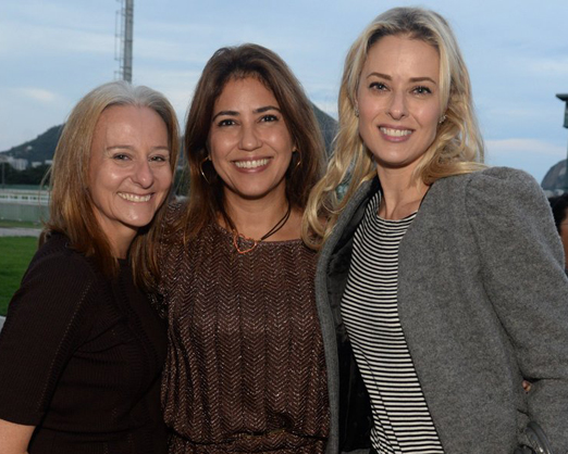 Patricia Costa, Raquel Correa e Georgia Wortmann