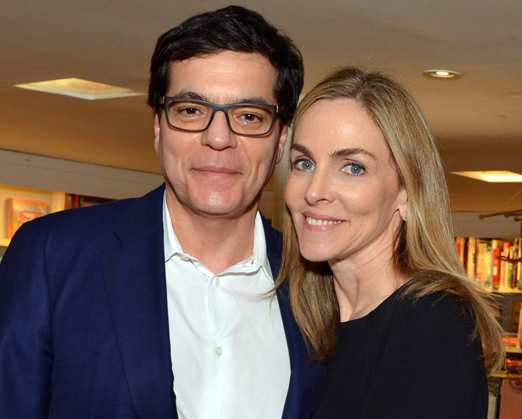 Patricia Kogut e o marido Ali Kamel