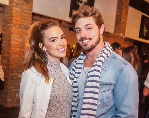 Polly Costa e Marco Farah