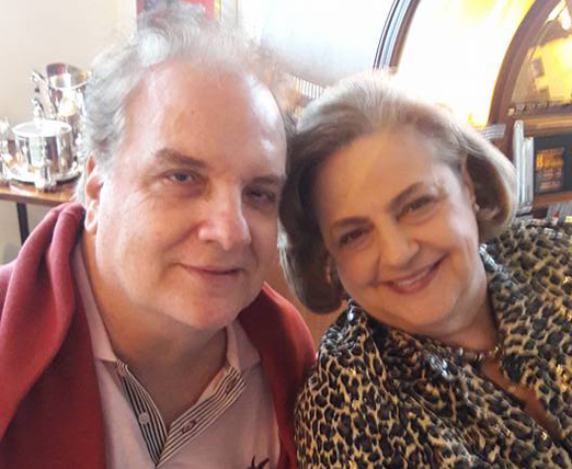 Rawlson de Thuin e Cristina Aboim