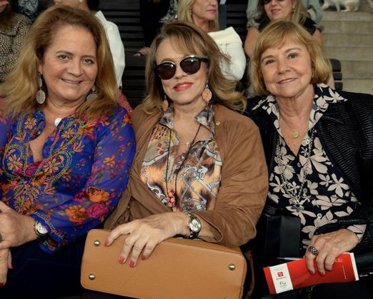 Renata Fraga, Regina Portugal e Consuelo Paes