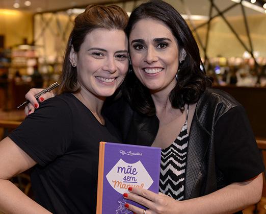 Rita com Michelle Loreto
