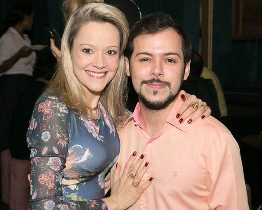 Roberta Fonseca e Felipe Braga