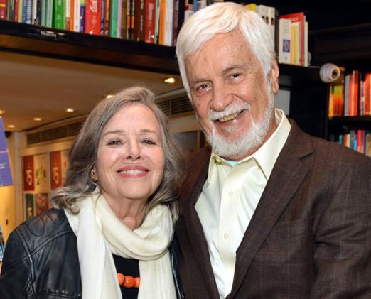 Rosiska Darcy de Oliveira e Edmar Bacha