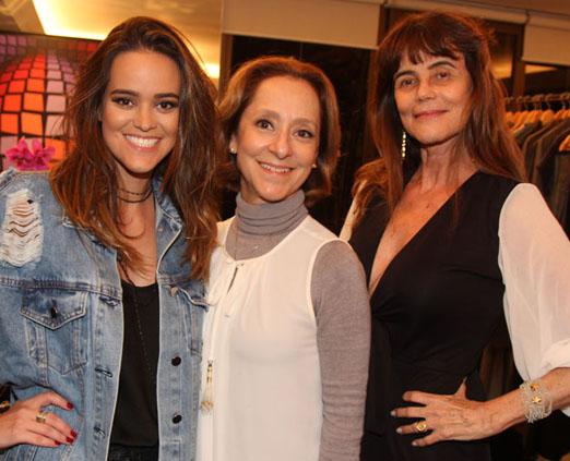 Sabine Arias, Ana Botafogo e Maly Peixoto