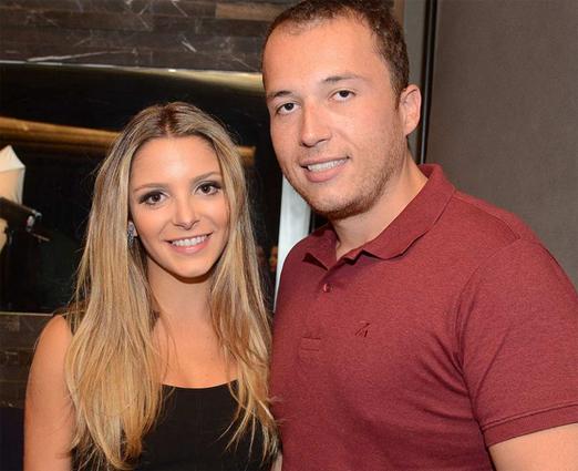 Sarah Mattar e Tiago Diniz