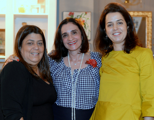 Stella Augusto, Bettina D'Archemont e Sandra Garcia