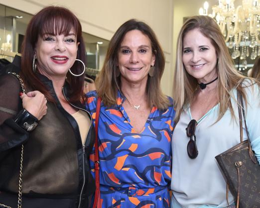 Sueli Bedran, Gabriela Itagiba e Gisela Markenson