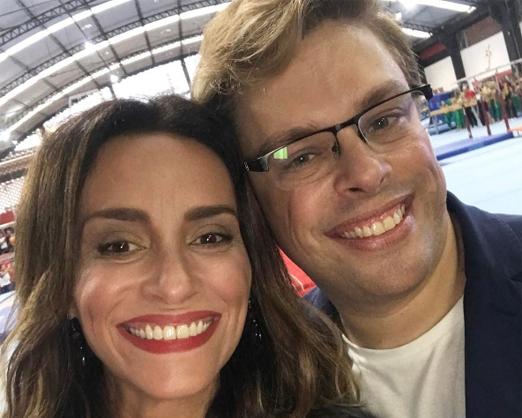 Suzana Pires e Bruno Chateaubriand
